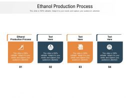 Ethanol Production Process Ppt Powerpoint Presentation Model Designs Download Cpb