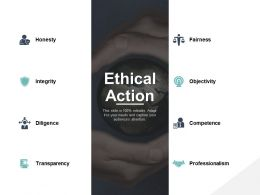 Ethical Action Objectivity Competence Ppt Powerpoint Presentation File Display