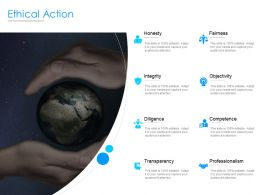 Ethical Action Transparency Objectivity Ppt Powerpoint Presentation Portfolio