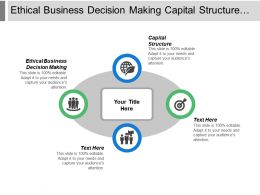 Ethical Business Decision Making Capital Structure New Product Screening Cpb