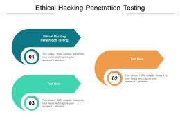 Ethical Hacking Penetration Testing Ppt Powerpoint Presentation Outline Themes Cpb