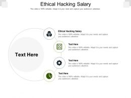 Ethical Hacking Salary Ppt Powerpoint Presentation Ideas Graphic Images Cpb