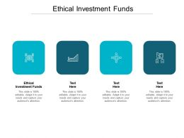 Ethical Investment Funds Ppt Powerpoint Presentation Professional Model Cpb