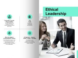 Ethical Leadership Communication Ppt Powerpoint Presentation Icon File Formats