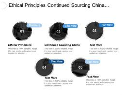 Ethical Principles Continued Sourcing China Terms Engagement Applied Cpb