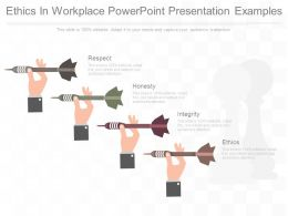 Ethics In Workplace Powerpoint Presentation Examples