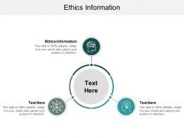 Ethics Information Ppt Powerpoint Presentation Outline Inspiration Cpb