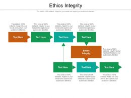 Ethics Integrity Ppt Powerpoint Presentation Professional Rules Cpb
