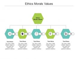 Ethics Morals Values Ppt Powerpoint Presentation File Summary Cpb