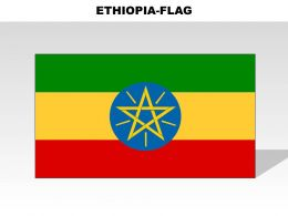 Ethiopia Country Powerpoint Flags