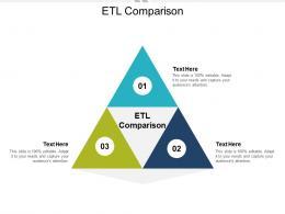 ETL Comparison Ppt Powerpoint Presentation Show Slideshow Cpb