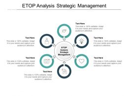 ETOP Analysis Strategic Management Ppt Powerpoint Presentation Infographics Cpb