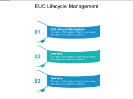 EUC Lifecycle Management Ppt Powerpoint Presentation Professional Themes Cpb