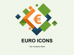 Euro Icons Showing Euro Currency With Arrows