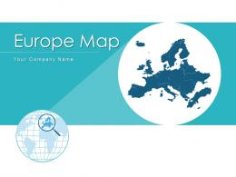 Europe Map Multiple Countries Survey Results Tourist City