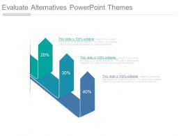 Evaluate Alternatives Powerpoint Themes