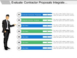 Evaluate Contractor Proposals Integrate Intuition Analysis Make Decision