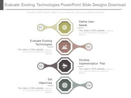 Evaluate Existing Technologies Powerpoint Slide Designs Download