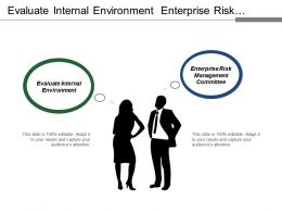 Evaluate Internal Environment Enterprise Risk Management Committee Neutralize Threats
