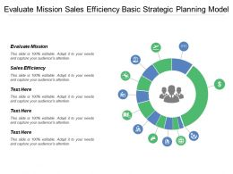 Evaluate Mission Sales Efficiency Basic Strategic Planning Model