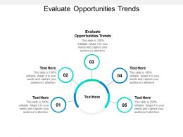 Evaluate Opportunities Trends Ppt Powerpoint Presentation Layouts Summary Cpb