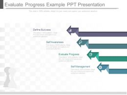 Evaluate Progress Example Ppt Presentation