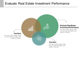 Evaluate Real Estate Investment Performance Ppt Powerpoint Presentation Inspiration Example Cpb