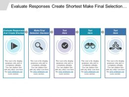 Evaluate Responses And Create Shortest Make Final Selection Decision
