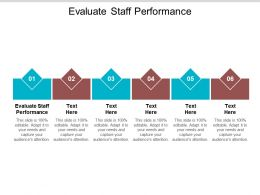 Evaluate Staff Performance Ppt Powerpoint Presentation Infographic Template Guidelines Cpb
