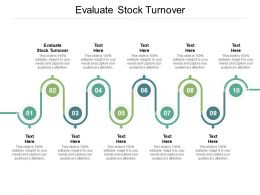 Evaluate Stock Turnover Ppt Powerpoint Presentation Styles Slides Cpb