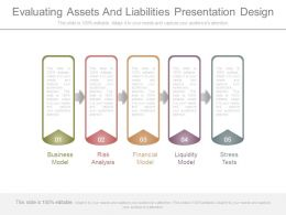 Evaluating Assets And Liabilities Presentation Design