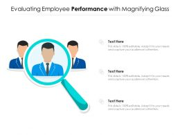 Evaluating Employee Performance With Magnifying Glass