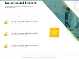 Evaluation And Feedback Bid Evaluation Management Ppt Powerpoint Files