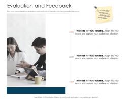 Evaluation And Feedback Tender Management Ppt Icons