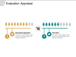 Evaluation Appraisal Ppt Powerpoint Presentation Infographics Background Cpb