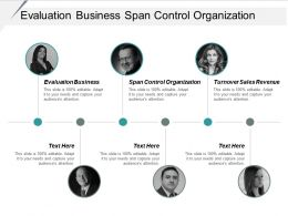 Evaluation Business Span Control Organization Turnover Sales Revenue Cpb