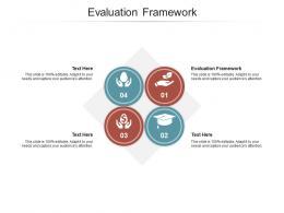 Evaluation Framework Ppt Powerpoint Presentation Portfolio Deck Cpb