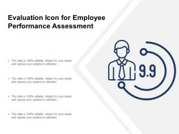 Evaluation Icon For Employee Performance Assessment
