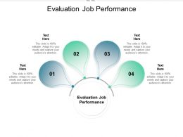 Evaluation Job Performance Ppt Powerpoint Presentation Slides Deck Cpb
