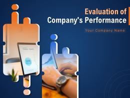 Evaluation Of Companys Performance Powerpoint Presentation Slides