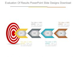 Evaluation Of Results Powerpoint Slide Designs Download