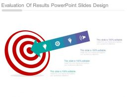 Evaluation Of Results Powerpoint Slides Design