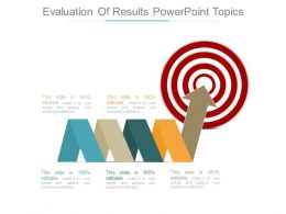 Evaluation Of Results Powerpoint Topics