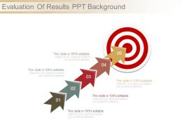 Evaluation Of Results Ppt Background