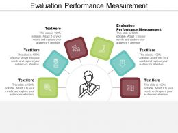 Evaluation Performance Measurement Ppt Powerpoint Presentation Slides File Formats Cpb