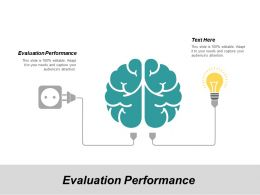 Evaluation Performance Ppt Powerpoint Presentation Ideas Outfit Cpb