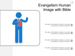 Evangelism Human Image With Bible
