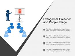 Evangelism Preacher And People Image
