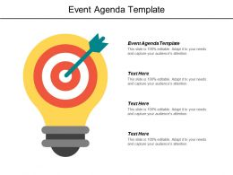 Event Agenda Template Ppt Powerpoint Presentation File Designs Cpb