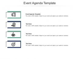 Event Agenda Template Ppt Powerpoint Presentation Infographics Clipart Images Cpb